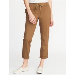 Mid-Rise Pull-On Anytime Chinos for Women